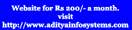 Website for Just Rs 200 a month